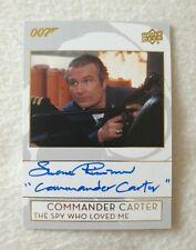 Upper Deck 2019 James Bond 007 Collection Shane Rimmer Autograph Card