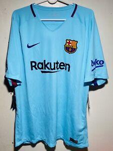Nike Fc Barcelona Away Jersey 2017/2018 Size XL