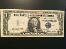 USA  1 Dollar 1935 D -- STAR note -- Silver Certificate