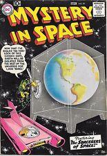 Mystery In Space Comic Book #39, Dc Comics 1957 Fine+