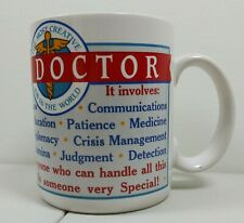 New listing Doctor's Ceramic Mug Coffee Tea Appreciate A Doctor love a doctor gift Free Ship