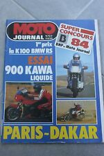 MOTO JOURNAL N°634 BETA 240 TR2 ★ KAWASAKI GPZ 900 R NINJA ★ PARIS DAKAR 1984