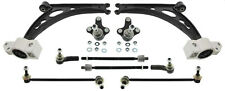 For Audi A3 VW Golf Front Wishbone Control Arm + Ball Joint + Rod Strut +Tie Rod