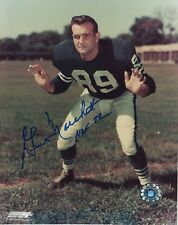 GINO MARCHETTI BALTIMORE COLTS HOF '72 SIGNED 8x10 (OSG COA) (8-1)