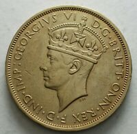 1938 British West Africa Two Shillings Georgius VI High Grade
