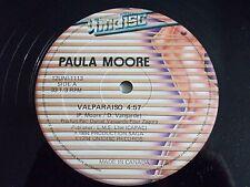 """Paula Moore Valparaiso I'm Gonna Love You 12"""" Single 1984 Canada Vinyl Record"""