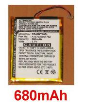 Battery 680mAh type A157336004752 For Samsung YP-T10J