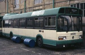 Original Colour slide, Merseyside, Leyland National, SKF25T