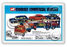 CORGI TOYS GS 48 CARRIMORE TRANSPORTER ARTWORK NEW JUMBO FRIDGE LOCKER MAGNET