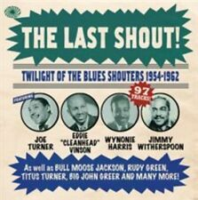The Last Shout!: Twilight of the Blues Shouters 1954-1962 [Digipak] by Various Artists (CD, 2014, 3 Discs, Fantastic Voyage)