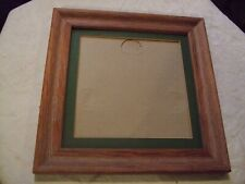 """Handsome light distressed wood picture/photo frame 10"""" x 10"""" - no glass"""