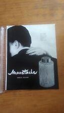 PUBLICITE ANCIENNE PUB ADVERT - PARFUM MARCEL ROCHAS - MOUSTACHE 3