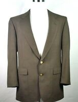 Hart Schaffner Marx Vintage Blazer 42 Long Jack Nicklaus Model Brown Two Button