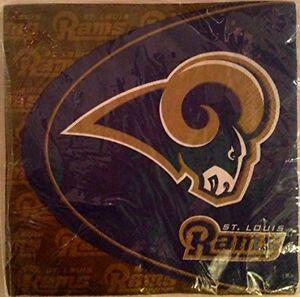 NFL St. Louis Rams Party Napkins - 48 Counts