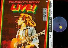 LP--BOB MARLEY--LIVE--