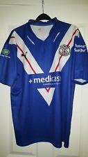 Mens Rugby League Shirt - St Helens - Puma - Away 2010-2011 - Blue - Size L