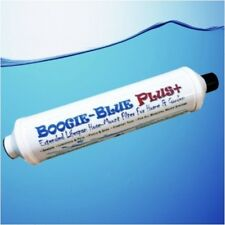 BOOGIE BLUE PLUS GARDEN HOSE WATER FILTER REMOVES CHLORINE AND CHLORAMINE **