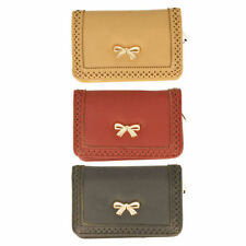 Synthetic Trifold Wallets for Women