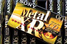 SONY XR 90 METAL POSITION TYPE IV BLANK AUDIO CASSETTE - 2001
