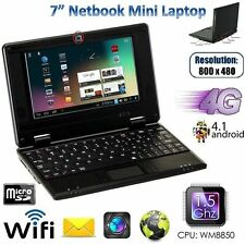 "7"" Netbook Mini Laptop 4GB WiFi Android notebook PC portatile a Buon Mercato & sguardo intelligente"