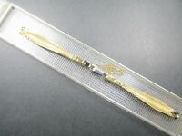 "Speidel Vintage ""Butterfly"" , Ladies 10K Gold Filled Mesh Stretch Watch Band"