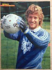 BRAVO POSTER Toni Schumacher - 80er Jahre !!!