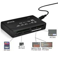 USB Kartenleser Speicherkarte Kartenlesegerät für MICRO SD SDHC SDXC M2 MS Z144