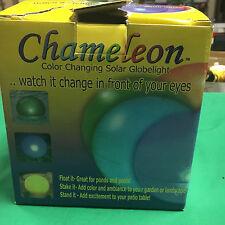 Smart Solar Chameleon Solar Globe Light