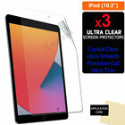 """3x For Apple iPad 8 9 10.2"""" 2020 2021 8th 9th Gen Screen Protector Guard Cover"""