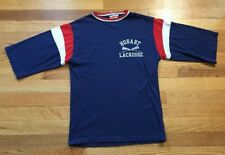 Vintage Hobart Lacrosse Champion Locker Room Tops Jersey T Shirt Size Small