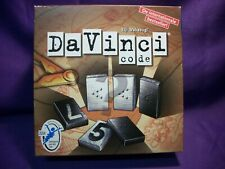 THE DAVINCI CODE GAME FAMILY CODE CRACKING TILE GAME WINNING MOVES NEW RARE