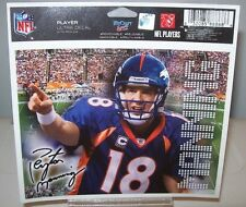 PEYTON MANNING DENVER BRONCOS PLAYER  5X6 ULTRA WINCRAFT DECAL