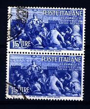 ITALIA REP. - 1946 - Avvento della Repubblica - 15 L. - Gloria di Venezia - Oltr