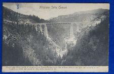 ALTIPIANO SETTE COMUNI Grandioso Ponte  Roana - Asiago viaggiata 1908 f/p #14436
