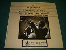 The Dizzy Gillespie Orchestra at Salle Pleyel~1948 Jazz~Prestige~FAST SHIPPING!