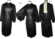 $798 Maxazria Jersey Dress Tunic S Black Runway Max Azria Sz. Small