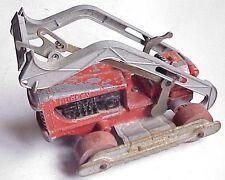 Vintage Hubley Road Grader Construction Toy