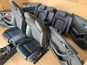 Audi A6 Competition C7 4G S6 S-Line Lederausstattung Leder Sitze Seats ROT EXCLU
