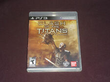 Clash of the Titans: The Videogame (Sony PlayStation 3, 2010)  COMPLETE