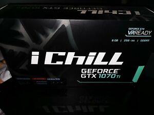 INNO3D GEFORCE GTX 1070TI ICHILL X4 8192MB GDDR5 PCI-EXPRESS GRAPHICS - BOXED