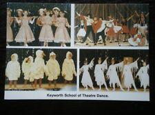 POSTCARD NOTTINGHAMSHIRE KEYWORTH SCHOOL OF THEATRE DANCE