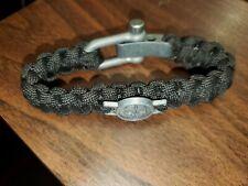Emblem Survival Cord Bracelet Men's Call Of Duty Ghost