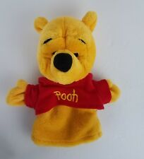 Mattel Disney Winnie the Pooh Hand Puppet 9 inch Plush Soft Teaching Aid EUC