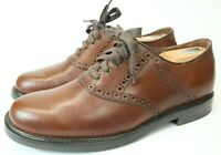 Johnston And Murphy Men's Dress Shoes Brown Leather Size 8.5 M