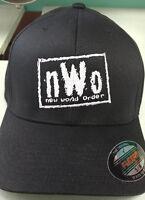 NWO WCW New World Order HAT Wrestling Flexfit or Snapback - FREE SHIPPING - NEW!