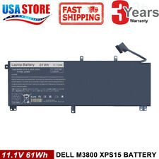 61Wh Battery For Dell XPS 15 9530 Precision M3800 T0TRM 245RR 0H76MY H76MV Y758W