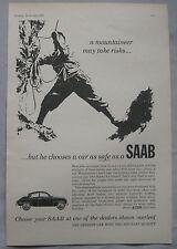 1963 SAAB Original advert No.3