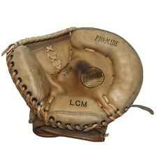 Vintage Late 1950/60's ALL PRO LCM Catchers Mitt Korea Made Nylon Stitched Nice