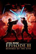 Star Wars Revenge Of The Sith Poster Ebay