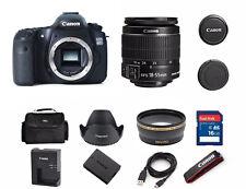 EXCELLENT Canon EOS 60D 18.0MP Digital SLR Camera With (2 LENSES BUNDLE)